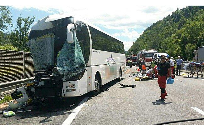 Die Unfallstelle auf der A2