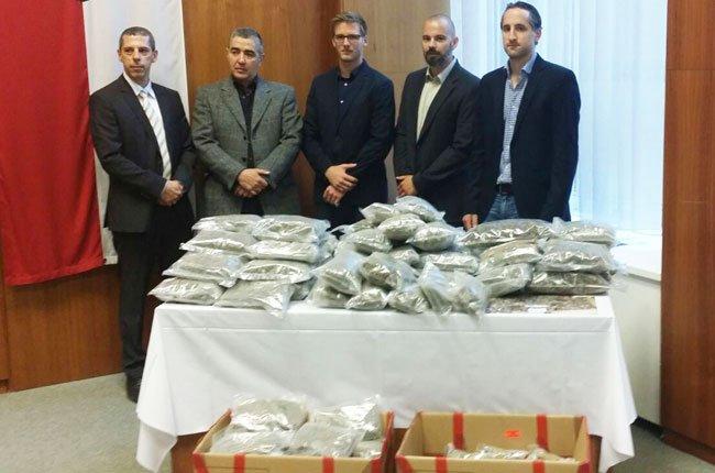 Drogen im Wert von 280.000 Euro wurden seit 1. Juni sichergestellt.