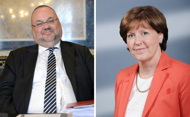 Die beiden Kandidaten der SPÖ.