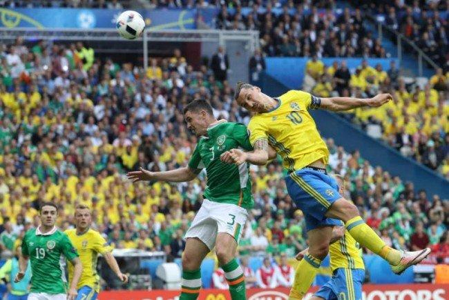 Schweden und Irland trennten sich schließlich im Remis.