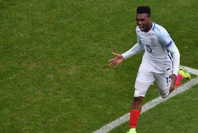 Daniel Sturridge schaffte noch das Siegestor für England.