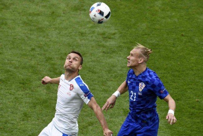 Kroatien und Tschechien schenkten sich nichts.
