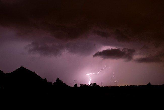 Gewitter werden die sommerliche Wetterstimmung stören