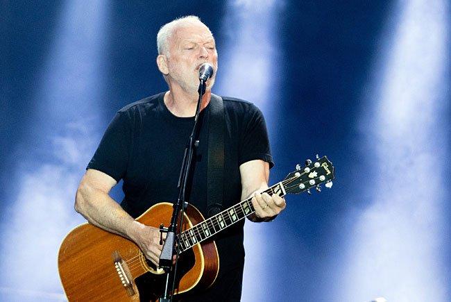 Der Sänger und Gitarrist ließ vor royalem Ambiente in Wien Pink Floyd auferstehen