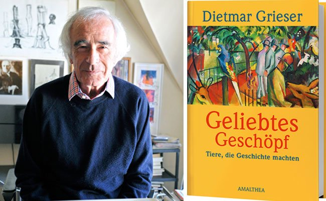 """Dietmar Grieser widmet sich in seinem neuen Buch """"Tieren, die Geschichte machten"""""""