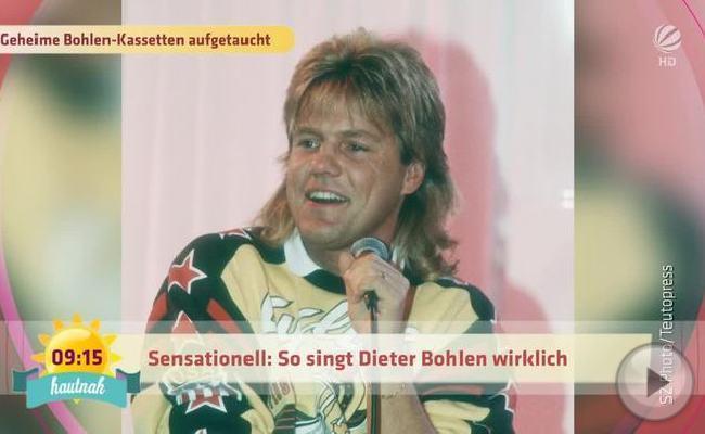 Aufgetaucht: Dieter Bohlens Demo-Tapes für Modern Talking.