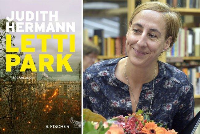 Die deutsche Schriftstellerin Judith Hermann hat einen neuen Band mit Erzählungen geschrieben