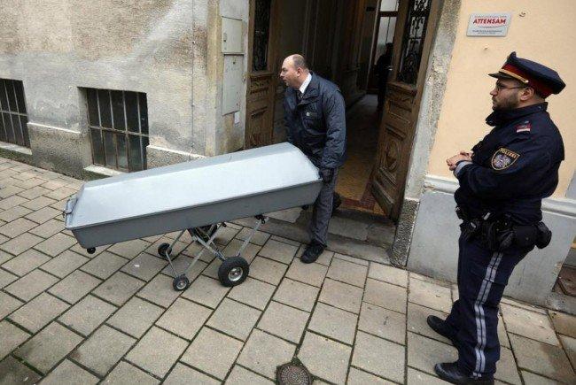 Am Tatort in Wien-Penzing