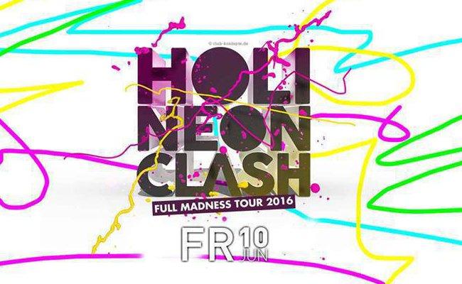 Es wird bunt: Der Praterdome lädt zum Holi Neon Clash