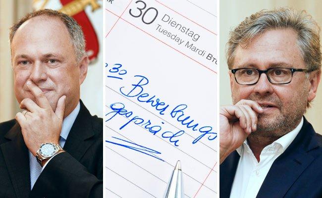 Richard Grasl und Alexander Wrabetz haben Interesse an dem Job als ORF-Generaldirektor.