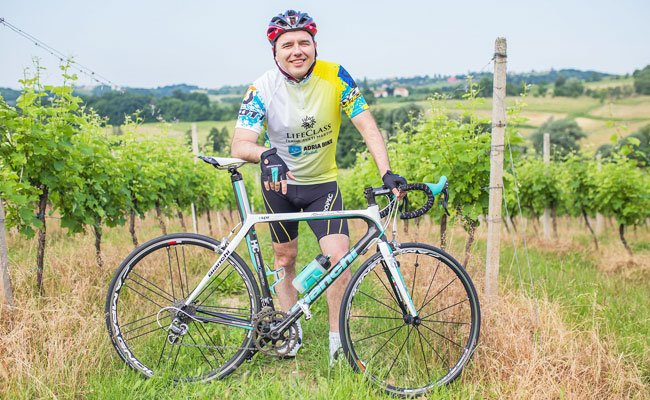 Fahrradfahren hält fit und tut auch der Seele gut.