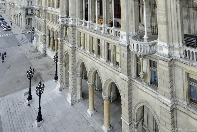 Es wird wieder gelacht im Wiener Rathaus.