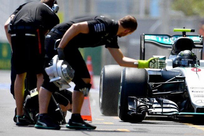 Rosberg geht als Favorit ins Rennen