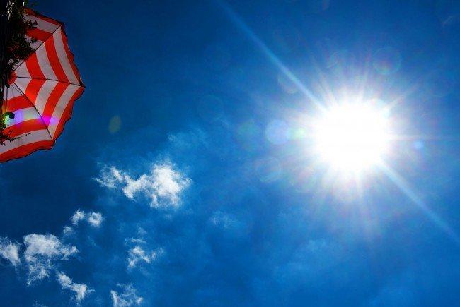 Die Temperaturen pendeln sich bei maximal 26 Grad ein