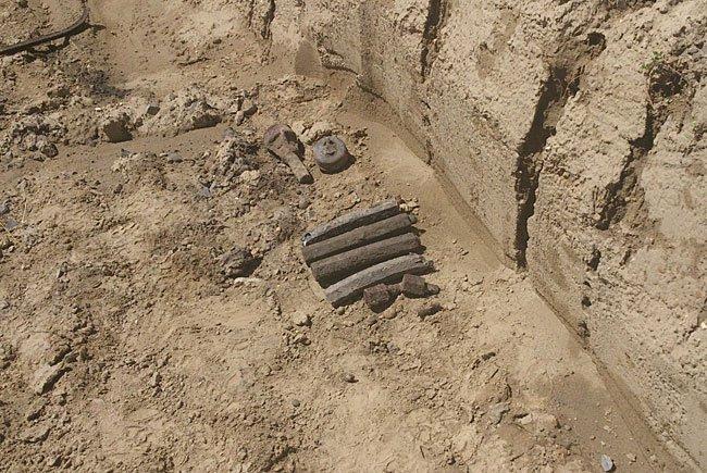 Diese Sprengmittel wurden gefunden