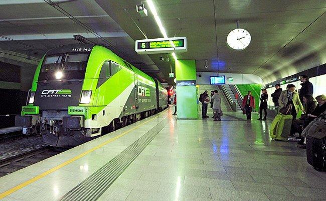 Der City Airport Train blickt auf ein Rekordjahr zurück.