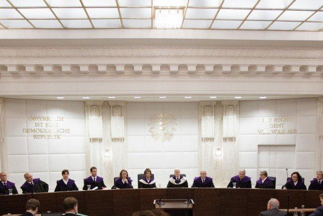 Erste Zeugen wurden zur Bundespräsidentenwahl befragt.