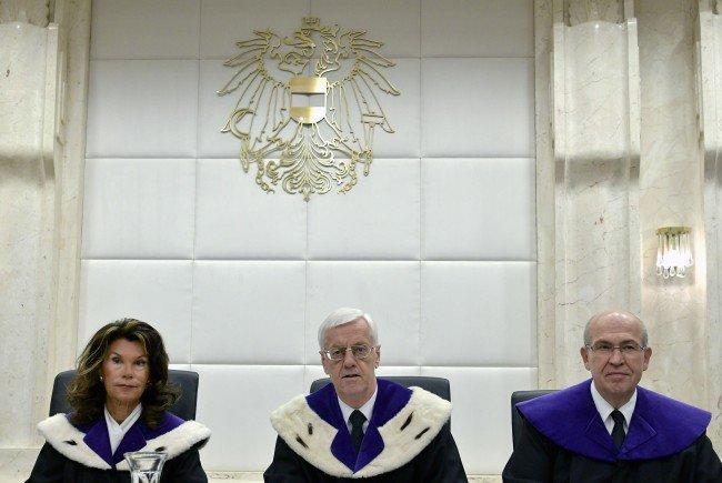 Bei der öffentlichen VfGH- Verhandlung zur BP- Wahl- Anfechtung der FPÖ in Wien