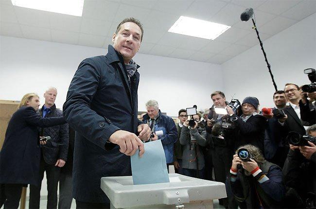FPÖ-Chef Heinz-Christian Strache hat Grund zur Freude.