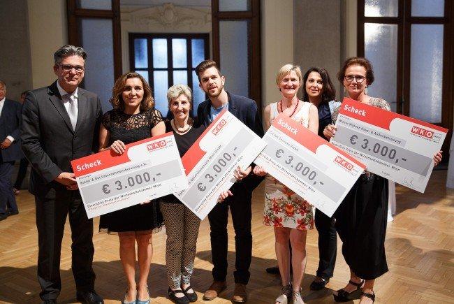 Die Sieger des 5. DiversCity Preis der Wirtschaftskammer Wien.