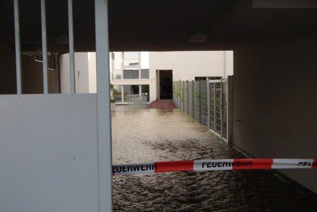 Ein Wasserrohrbruch legte in Floridsdorf den Verkehr lahm