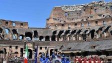 Äußere Restaurierung des Kolosseums beendet
