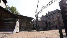 Papst Franziskus besucht früheres KZ Auschwitz