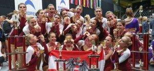 Cheerleading: Wiener Milleniumdancers holen Europameistertitel