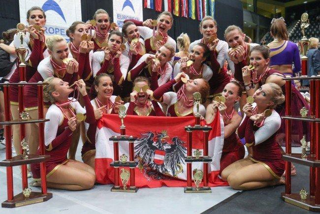Die Wiener Milleniumdancers holten zwei Europameistertitel.