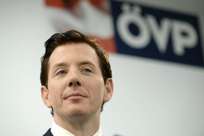 ÖVP-Generalsekretär Peter McDonald präsentiert die Sommerkampagne seiner Partei