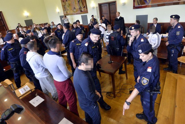 """Mit Schuldsprüchen und hohen Haftstrafen endete der Prozess rund um die """"Frosch-Bande"""""""