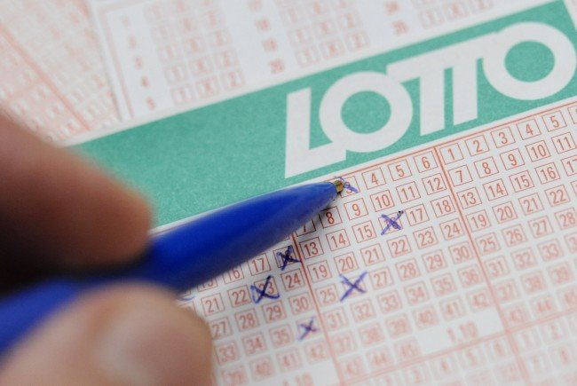 Lotto-Jackpot am Sonntag.