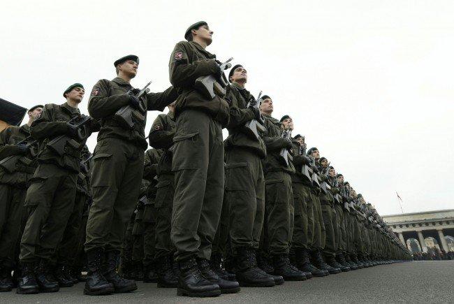 Das Bundesheer übernimmt die Bewachung der Wiener Botschaften