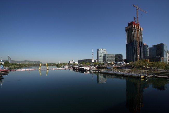 Die Neue Donau in Wien.