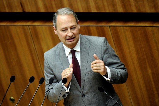 SPÖ-Klubobmann Andreas Schieder