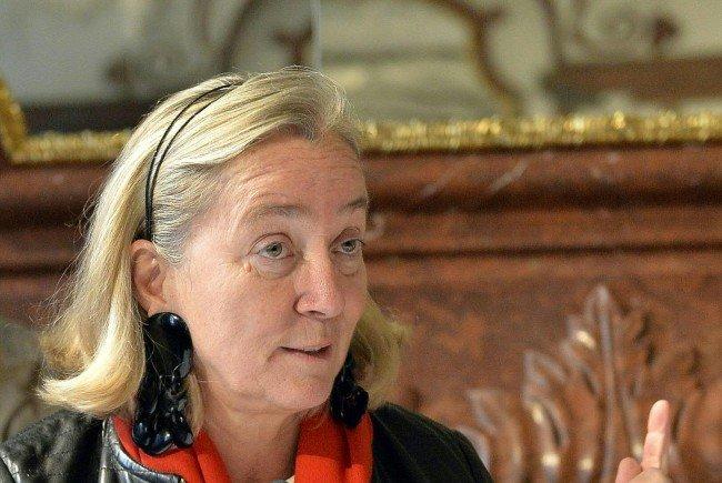 Belvedere-Direktorin Agnes Husslein-Arco