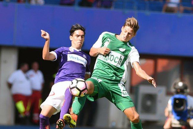 Austria Wien besiegte den SV Mattersburg mit 3:1