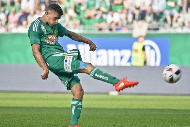 Rapid Wien spielt im Hinspiel der dritten EL-Qualirunde in Weißrussland bei Torpedo Schodsina.