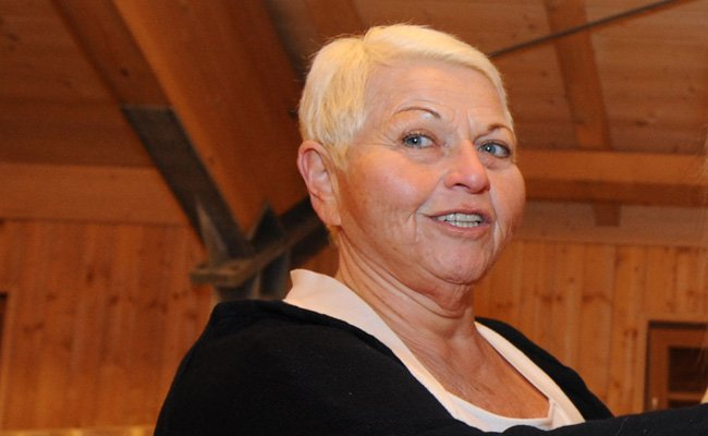 Die Wiener Sängerin Jazz Gitti.