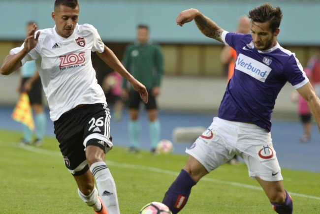 Die Austria Wien verlor 0:1 gegen Spartak Trnava.