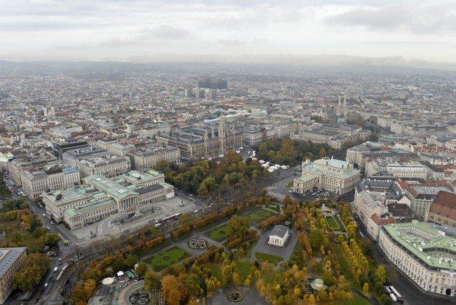 Wien ist unter den Top 5 der Interrail-Destinationen.