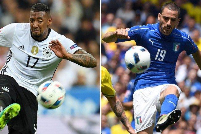Deutschland trifft im Viertelfinale der EURO 2016 auf Italien.