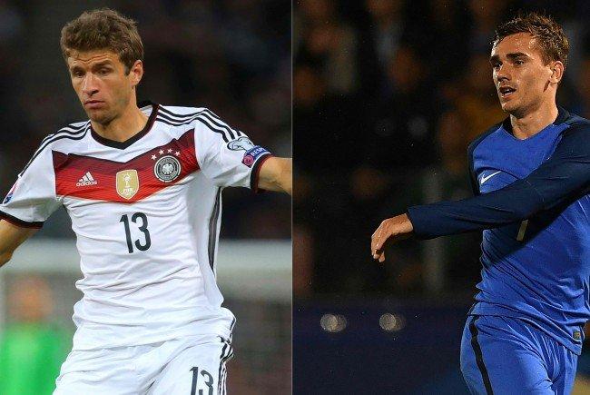 LIVE: Deutschland gegen Frankreich im EM-Halbfinale