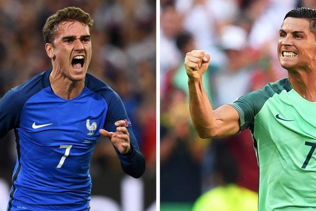 LIVE-Ticker zum EM-Finale zwischen Portugal und Frankreich.
