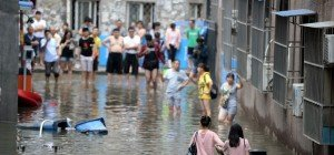 Rund 100 Tote durch Unwetter in China
