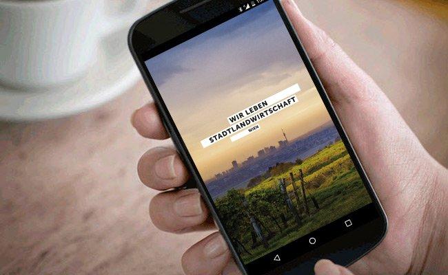 """Gute Idee und Umsetzung, eigenwilliger Titel: Die App """"Wir leben Stadtlandwirtschaft"""""""