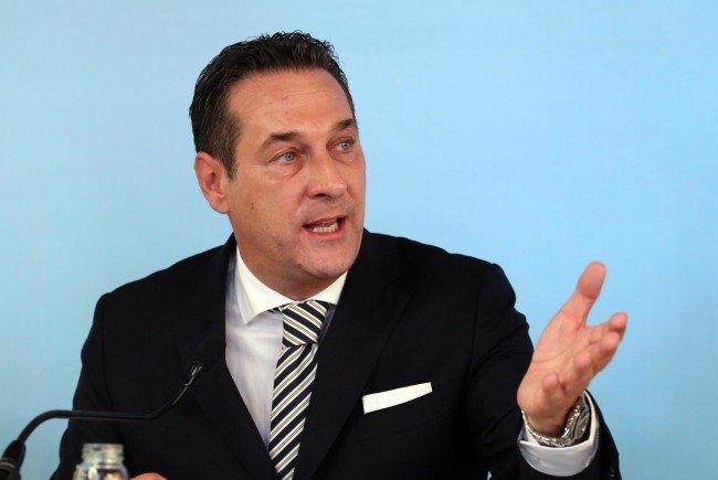FPÖ-Chef Heinz Christian Strache.