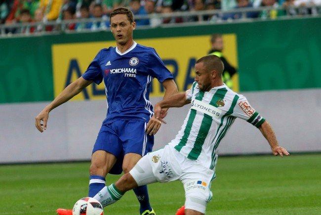 Steffen Hofmann (r.) im Testspiel gegen Chelsea.