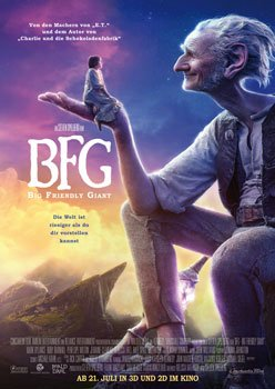 BFG – Big Friendly Giant – Trailer und Kritik zum Film