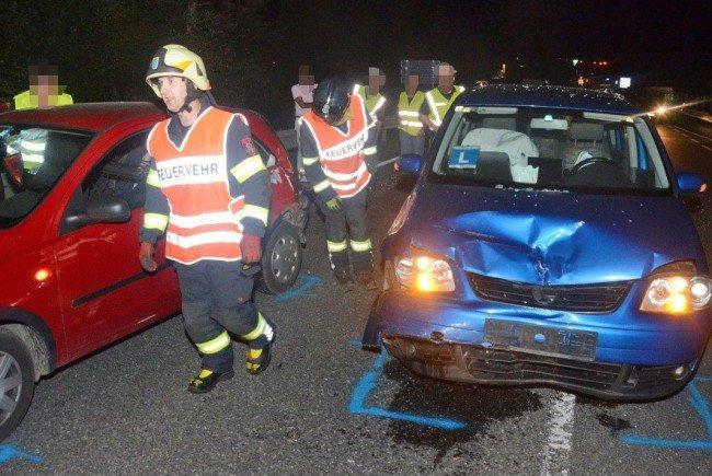 Bei Melk kam es in der Nacht auf Montag zu einem Unfall.